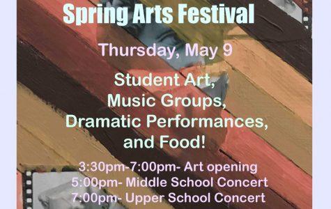 All-School Spring Arts Festival