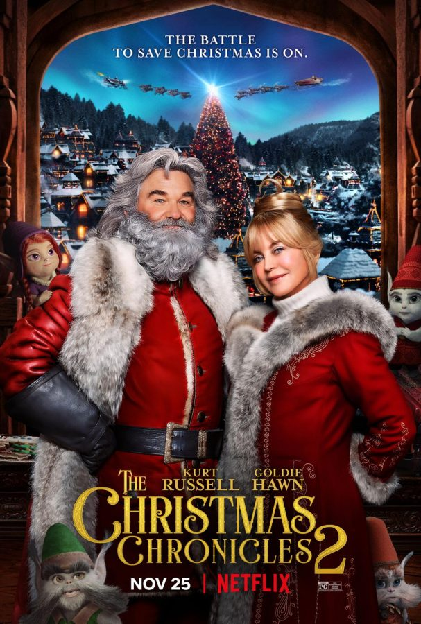 Official Poster for The Christmas Chronicles 2 (courtesy of Netflix)