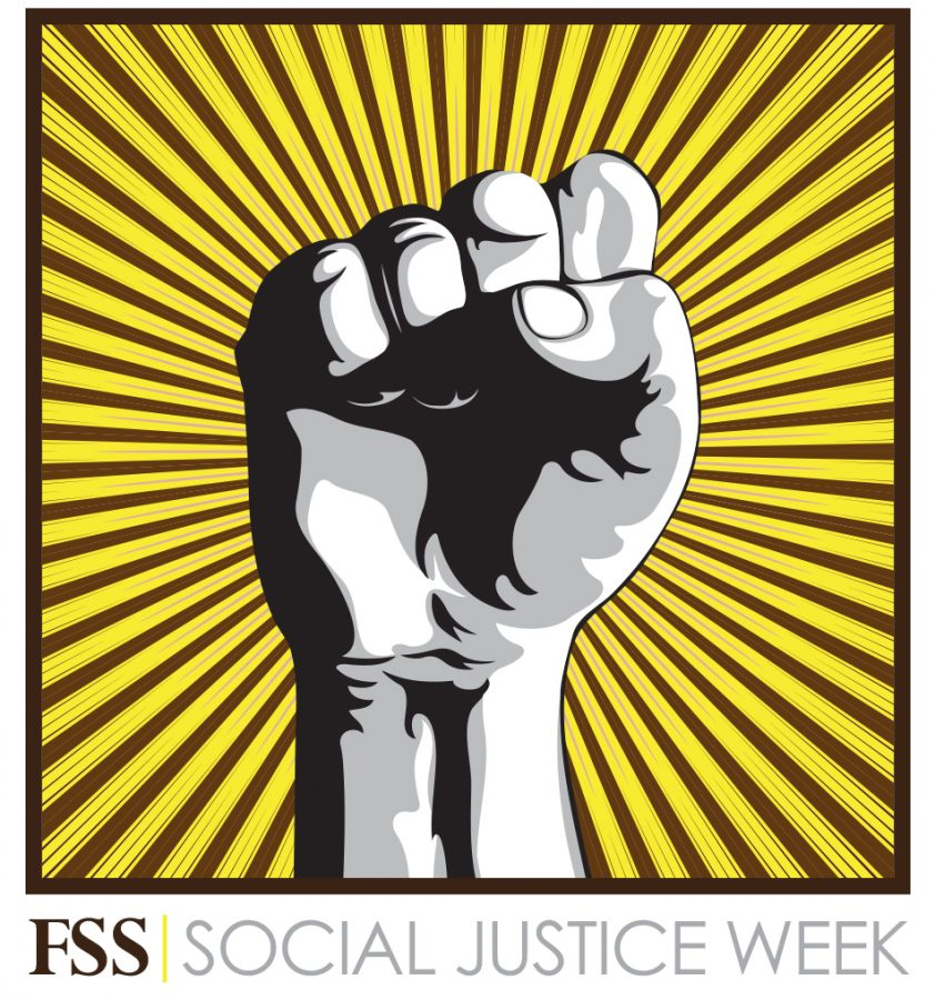 Official Image for FSS Social Justice Week