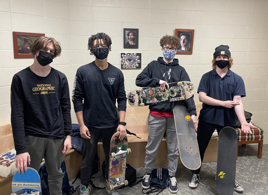 FSS Students Embrace Skate Culture