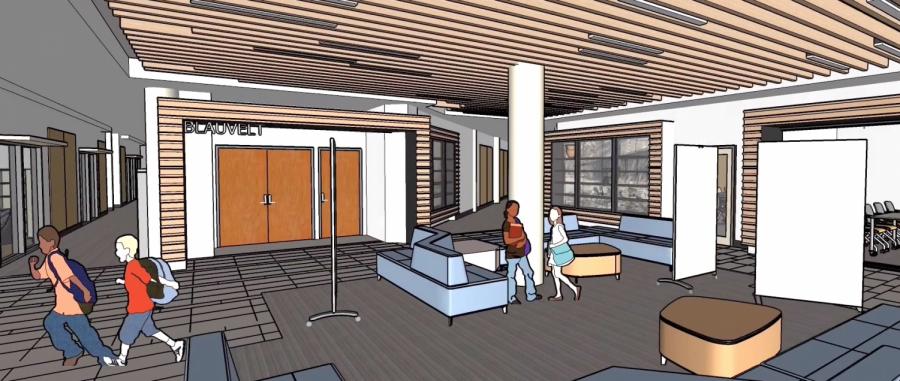 School Releases Animations of First Floor Renovation